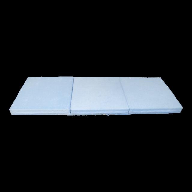 Klap matrace VITAPUR 3D froté modrá - 3