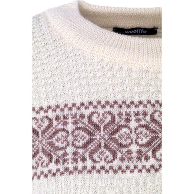 """Dámský vlněný pulovr """"CS"""" Merino Extra Fine - Vanilla Ice - 3"""