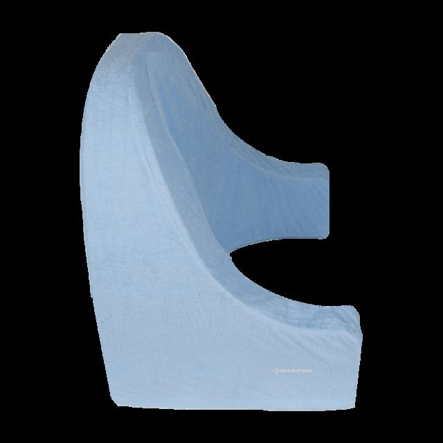Opěradlo FROTÉ modré 50x60x50 - 3