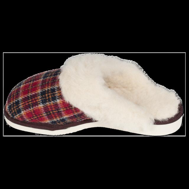 Pantofle vlněné TEX s lemem - 3