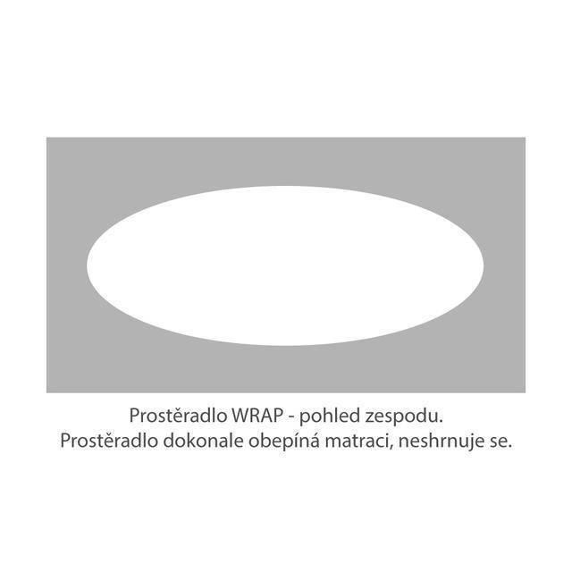 Prostěradlo Bi-elastic PREMIUM WRAP 200x90 medové - 3