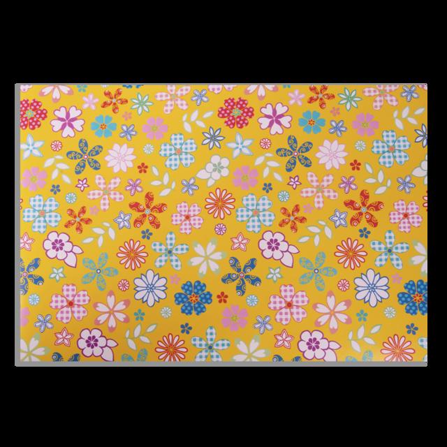 Dárkové balení žluté květy - 4
