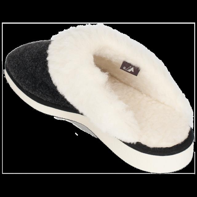 Pantofle vlněné NERA s lemem - 4