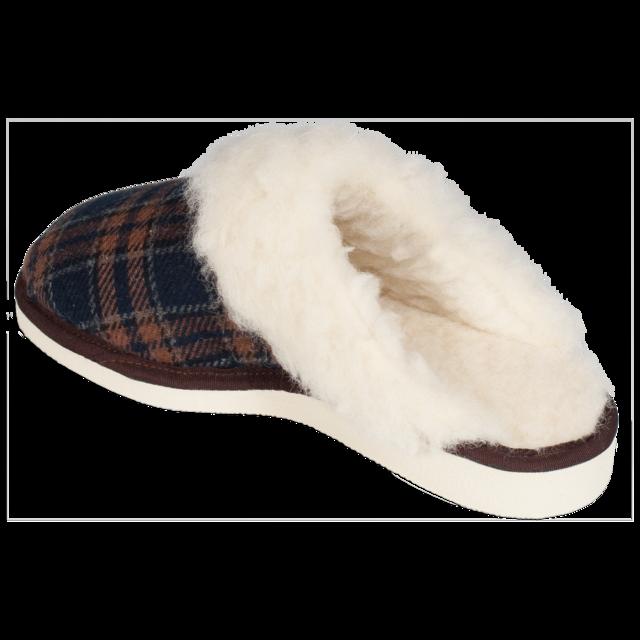 Pantofle vlněné TEX s lemem - 4