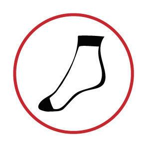 Ponožky jemné bavlněné dámské 2 páry hnědá - 4