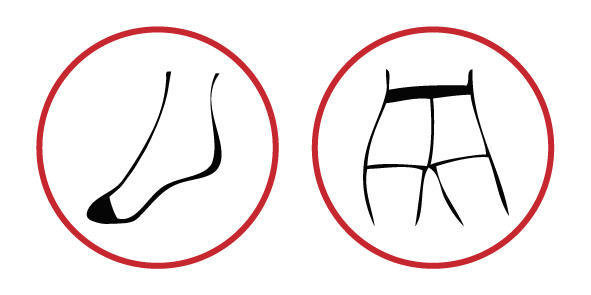 Punčochové kalhoty jemné BASIC černá - 4