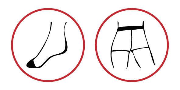 Punčochové kalhoty jemné BASIC hnědá - 4