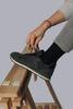 3 PACK Vlněné ponožky Woolife Rib Black - 6/7